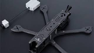 IFlight DC5 222mm 5inch HD FPV Freestyle Frame Kit with 5mm Arm Compatible 5inch Prop for DJI FPV Ai