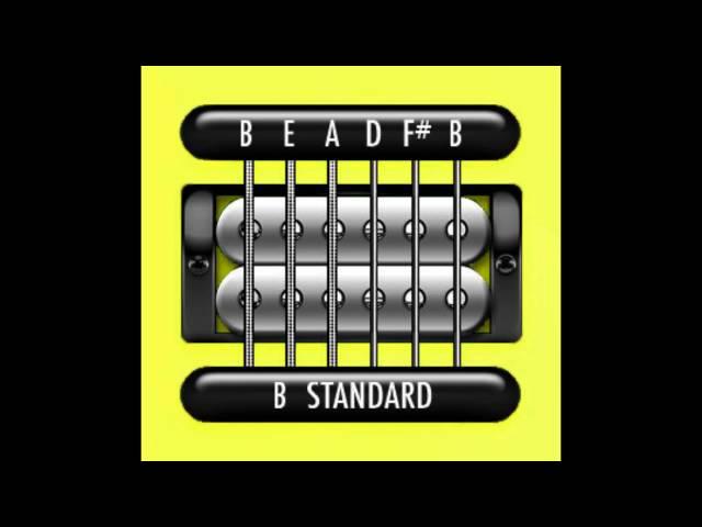 Standard Guitar Tuning b standard tuning#