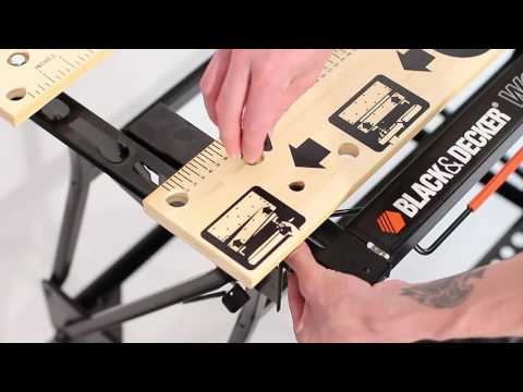 How To Assemble the BLACK+DECKER™ Workmate® Plus Work Bench
