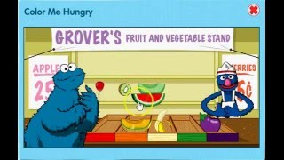 Sesame Street Color Me Hungry Game|Learn Colors,Healthy Eating Colour Game For Kids