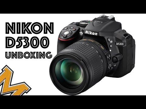 Nikon D5300. Unboxing Español. Nueva cámara para el canal !!!