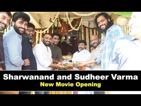 Sharwanand New Movie Opening With Sudheer Varma