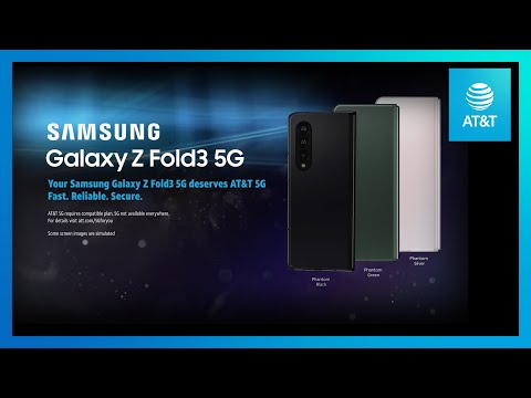 Samsung Galaxy ZFold3 5G   AT&T-youtubevideotext