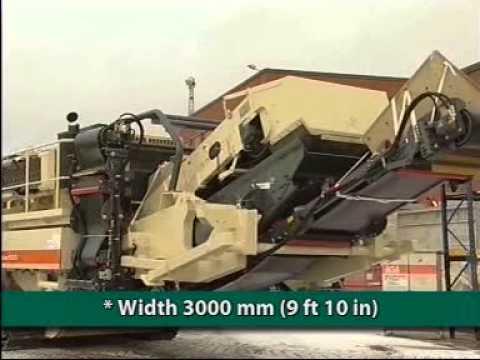 Impact Crusher Metso Minerals Lokotrack LT1213s   Trituradora Móvil de Impacto   Emil Import
