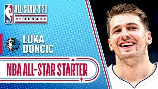 Luka Doncic 2020 All-Star Starter | 2019-20 NBA Season