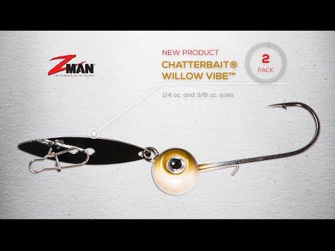 3//8oz NEW Fire craw Pattern ZMan Chatterbait Custom Bladed Jig Lot Of 2