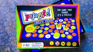 Pajaggle Board Game that thinks it's a Puzzle!