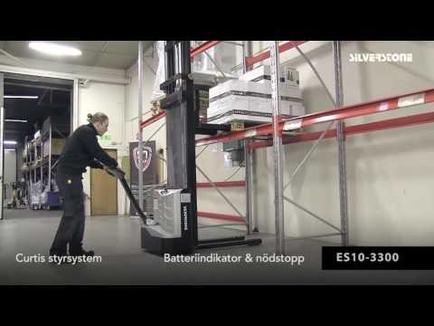 El-stabler ES10-2700 løftehøjde 2700 mm - 1000 kg