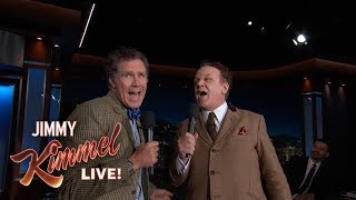 Will Ferrell & John C. Reilly Sing Reunited to Each Other