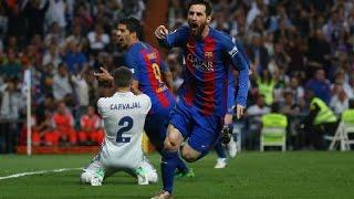 Real Madrid 2-3 Barcelona Liga Santander 2016-2017 | COPE