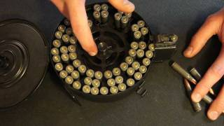 Loading An AK47 Drum Magazine Step By Step How To