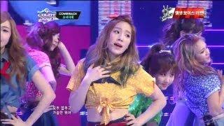 엠카운트다운 - 소녀시대_Dancing Queen (Dancing Queen by Girls'Generation@Mcountdown 2013.1.3)