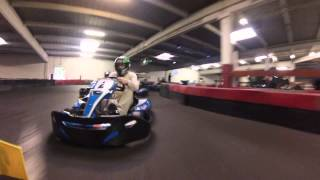 preview picture of video 'Course Karting CE PCO @ Maurepas'