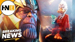 Howard the Duck Cut Cameo from Avengers Infinity War REVEALED
