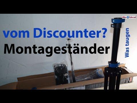 25 Euro Montageständer vom Discounter - was taugt der Powerfix Ständer?