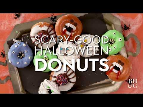 Halloween Donuts  | Fun With Food | Better Homes & Gardens