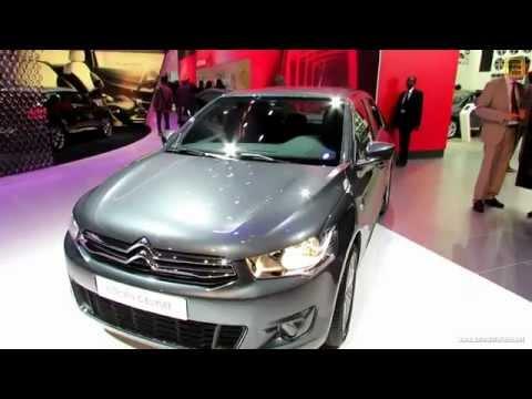 Citroën C-Elysée : petit tour intérieur et extérieur au salon de l'automobile de Paris