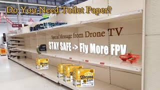 LIVE Drone TV - #4k #fpv How to Be Safe From the Corona Virus
