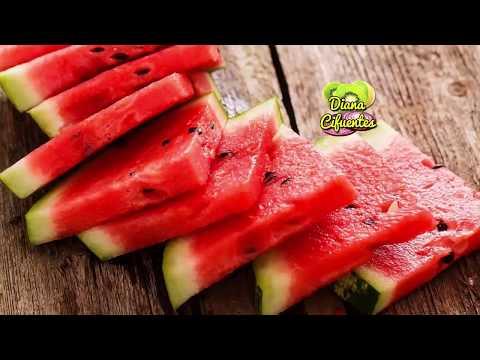 Si sandías y melones diabéticos