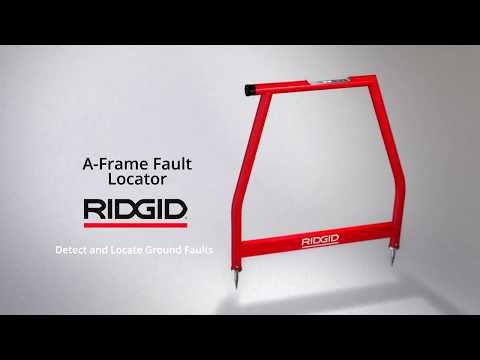 RIDGID A-Frame Ground Fault Locator