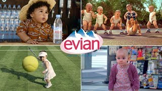 All Amazing Evian Singing Dancing Surfing Rolling Babies And Making Of Commercials Ever