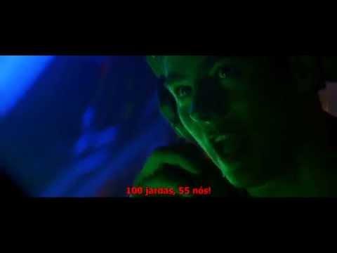 Crimson Tide{1995} cena de batalha submarina
