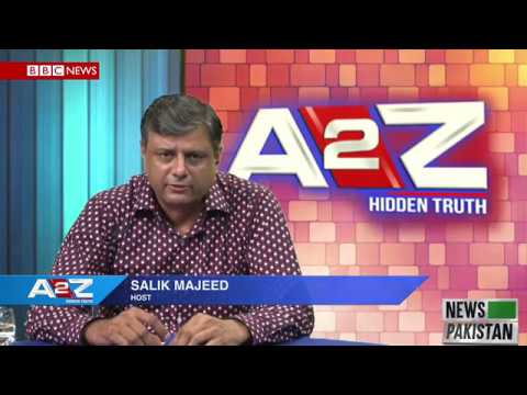 A2Z With Salik Majeed Topic: China's OBOR (One Belt One Road)