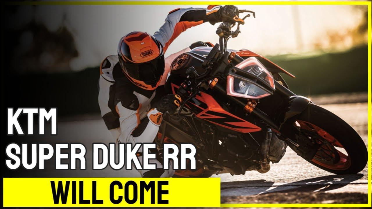 KTM Super Duke RR will come