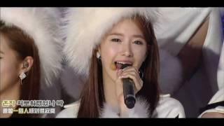 [聲音修正版] 韓中字 SNSD - 첫눈에 Snowy Wish 101229