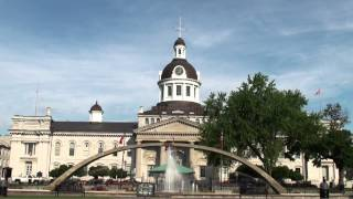 preview picture of video 'Short visit of Kingston (Canada - Ontario)'
