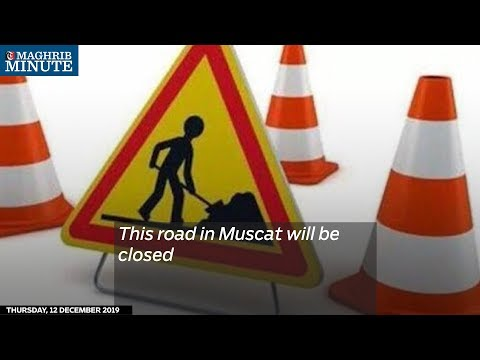 This road in Muscat will be closed