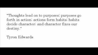 Inspirational quote - Tyron edwards (American theologian)
