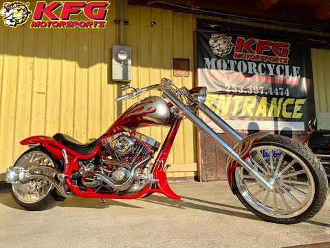 2004 BOURGET'S BIKE WORKS FAT DADDY CHOPPER in Auburn, Washington - Video 1