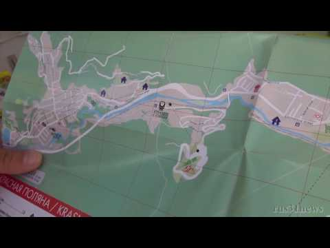 Отдых в Сочи: Куда съездить и почем объяснение по карте