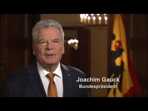 Woche der Welthungerhilfe 2014 - Ansprache des Bundespräsidenten