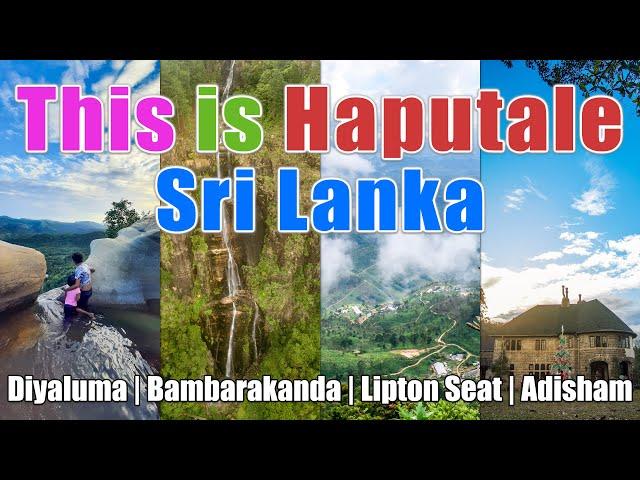 This is Haputale - Sri Lanka - Travel Vlog