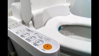 ЯПОНСКИЙ УНИТАЗ. Как устроен унитаз в Японии. Туалет в Японии