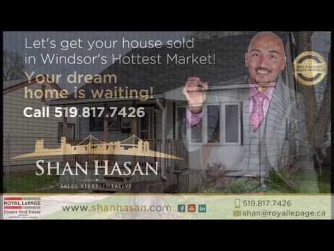 SOLD SOLD SOLD!!!3495 Girardot - WINDSOR - SHAN HASAN