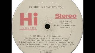 Al Green - Love & Happiness