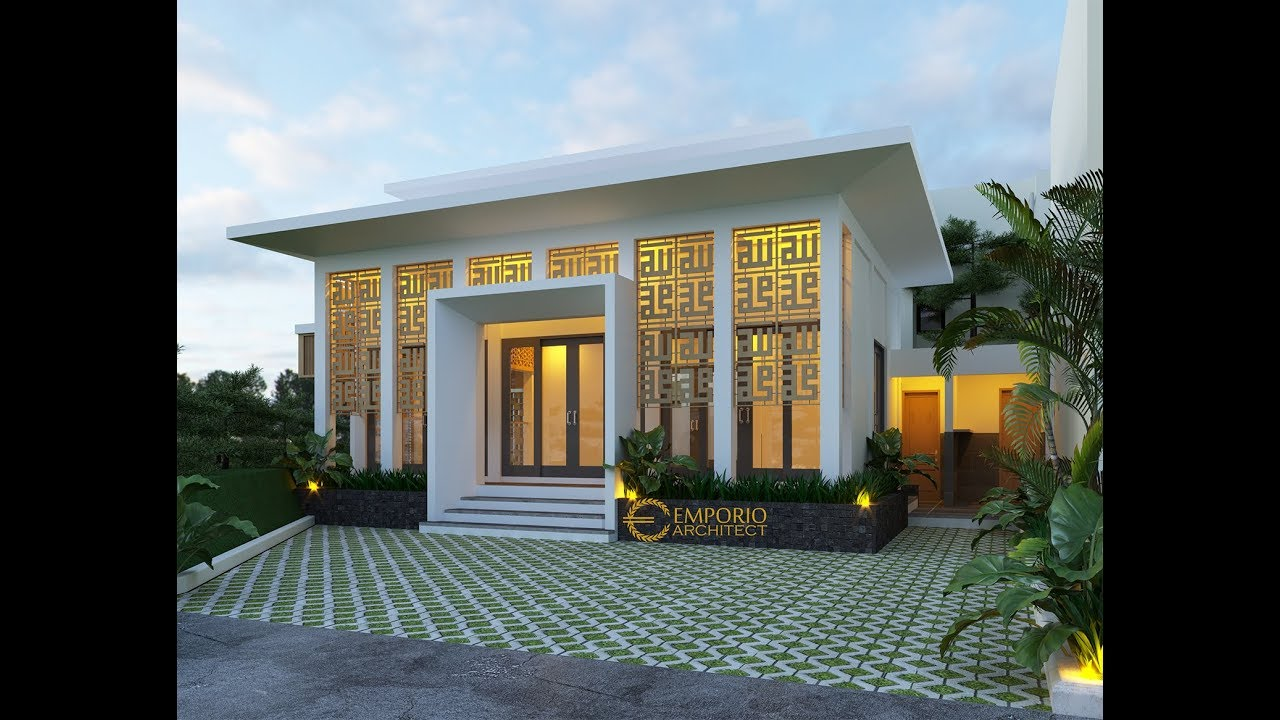 Video 3D Green Bamboo Terace Mushola Design - Bogor, Jawa Barat