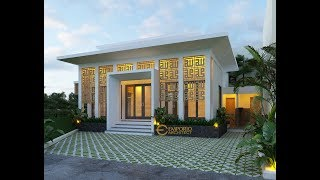 Video Desain Mushola Modern 1 Lantai Green Bamboo Terrace di  Bogor, Jawa Barat