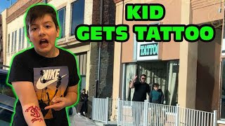 Kid Temper Tantrum Snuck Out And Gets A Tattoo - Mom Cries! [Original]