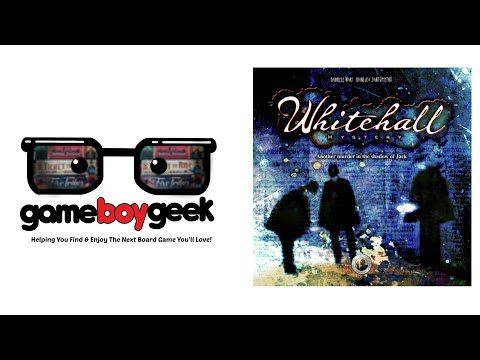 The Game Boy Geek Reviews Whitehall Mystery