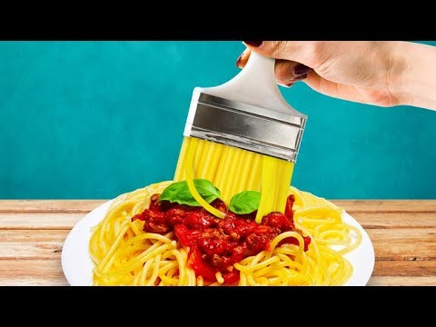 40 Incredible Kitchen Hacks