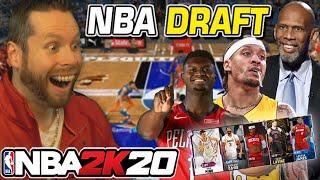 I asked NBA players to draft a NBA 2K20 team