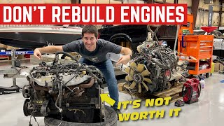 Here's Why You Should NEVER Rebuild An ENGINE *The Math Doesn't Add Up*