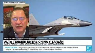 TENSIONES ENTRE CHINA, TAIWAN Y ESTADOS UNIDOS