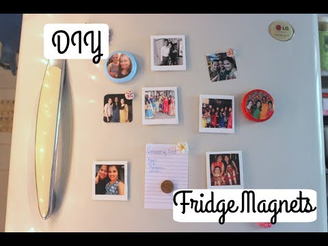 How to make Easy Fridge Magnets in under 15 mins