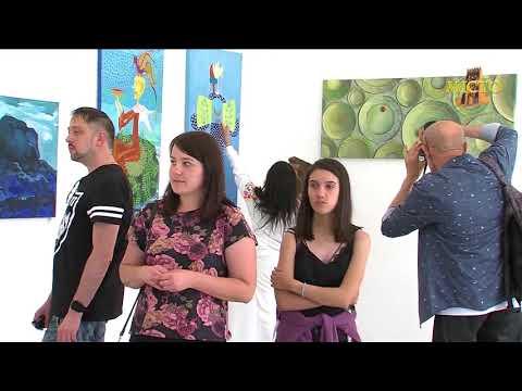 """Художники Литви. Малярство. 5 липня  2018 © Інформаційна програма """"Місто"""" - Луцьк - YouTube"""