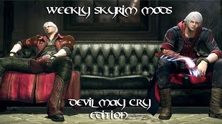 Weekly Skyrim Mods: Devil May Cry Edition